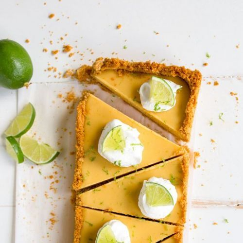 Key Lime Pie in a Loaf Pan