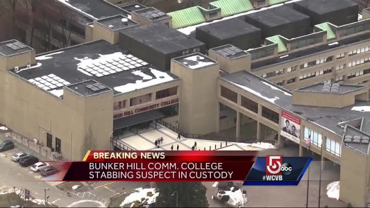Bunker Hill Community College stabbing suspect in custody