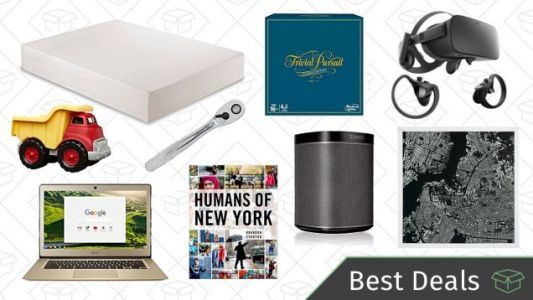 Tuesday's Best Deals: Amazon Tech Gold Box, $5 Off Books, SONOS Speakers, and More