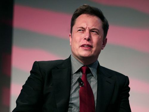 Elon Musk says he didn't cry when he told The New York Times about his 'excruciating' year and lonely nights at the Tesla factory. The Times says his 'emotion was audible.'