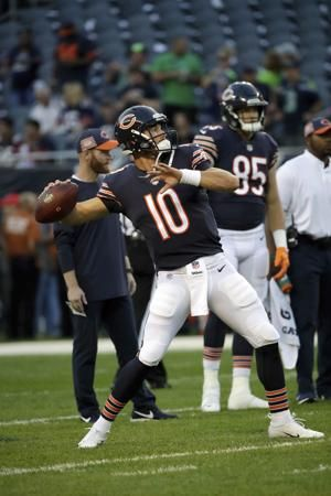 Bears coach understands Trubisky, Mahomes comparisons