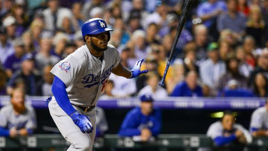 MLB wrap: Yasiel Puig powers the Dodgers to a win in a battle for the NL West