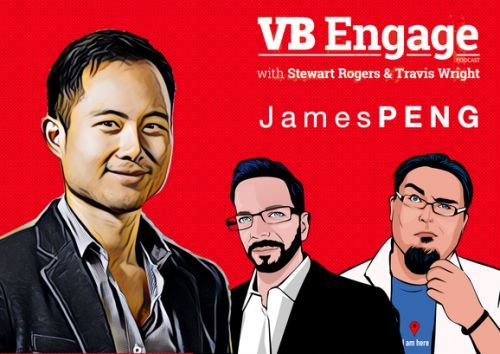 James Peng, blockchain marketing, and swiping left on ad fraud - VB Engage