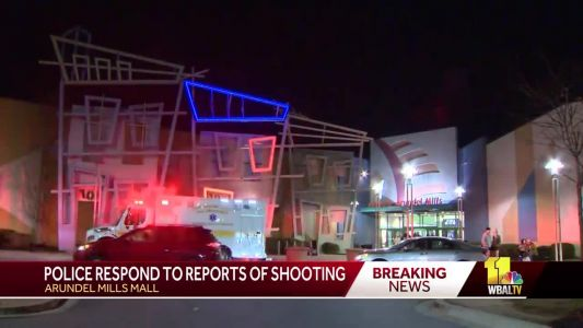 Suspect wanted in shooting at Arundel Mills Mall, police say