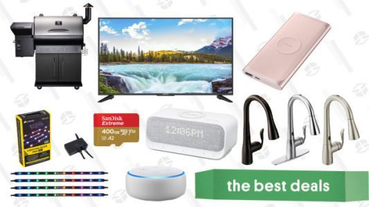Wednesday's Best Deals: Discounted Audible Membership, Pellet Grill, Moen Kitchen Faucets, and More