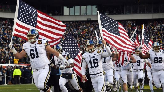 Navy's defense extends past the football field for Saturday's matchup with Army