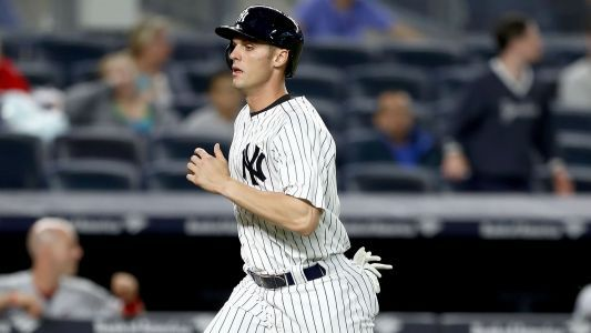 Greg Bird to have MRI exam on troublesome right foot, scratched from Yankees' Saturday lineup