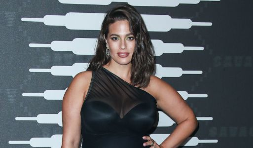 Ashley Graham Slayed in a Sheer Black Dress at Rihanna's Fenty X Savage Show