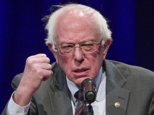 Bernie Sanders tops day-one money race with $4M haul - more than double Kamala Harris' funds