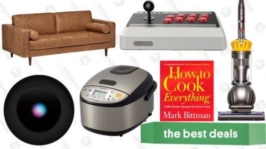 Saturday's Best Deals: Furniture Discounts, Dyson Ball, HomePod, FIFA 19, and More