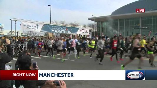 Thousands run in the 13th annual CMC Manchester City Marathon