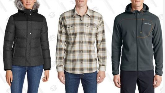 Eddie Bauer's Taking 50% Off Just About Everything On Their Site