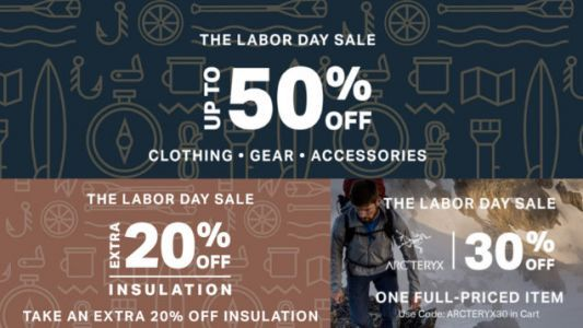 Backcountry's Labor Day Sale is Three Deals At Once