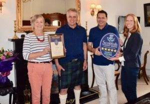 VisitScotland: The Townhouse strikes gold