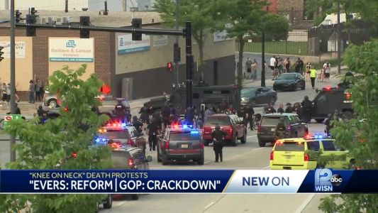 Evers calls for reform of use of force policies, GOP calls for crackdown