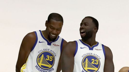 Kevin Durant mum on details of Draymond Green spat: 'Sh- happens in the NBA'