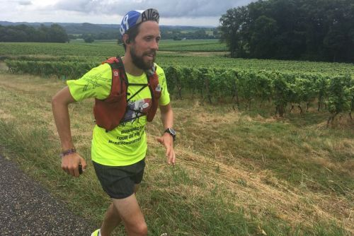 Man runs entire 2,000+ mile Tour de France route