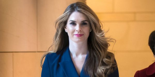 Hope Hicks once auditioned for a movie with Alec Baldwin