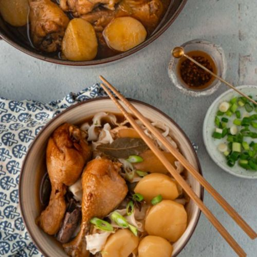 Chinese Chicken Stew with Potatoes