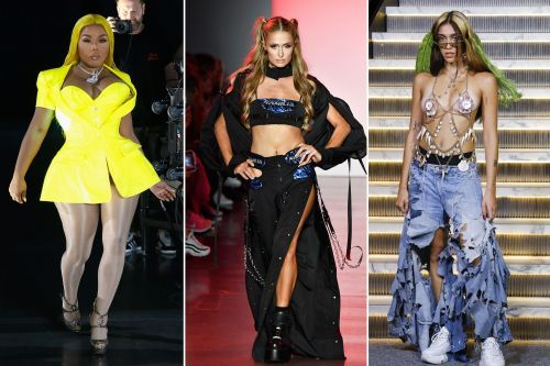 Celebrities rule the runway at New York Fashion Week