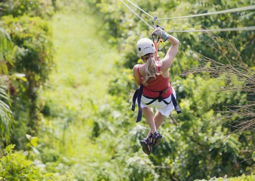 Honeymooning couple collides in fatal zip line accident