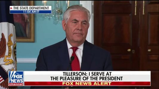 White House announces Tillerson's ouster just hours after he criticizes Russia