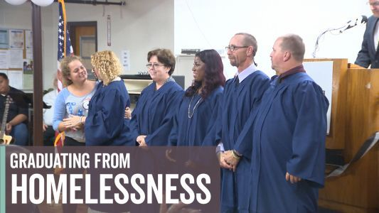 Nonprofit helps homeless people get on track