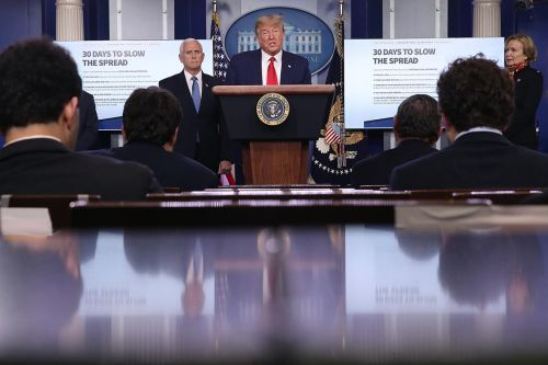 White House Correspondents' Association boots OAN from briefing rotation after reporter defies social distancing restrictions