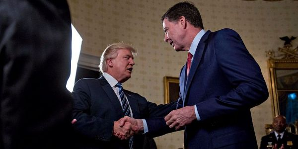 James Comey recalled Trump's 'impressively coiffed hair' and hand size in his first meeting with the president