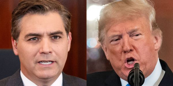 CNN filed a First Amendment lawsuit against the Trump administration for revoking Jim Acosta's press pass