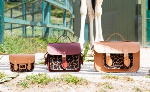 In Pictures: Cambridge Satchel Company giraffe collection