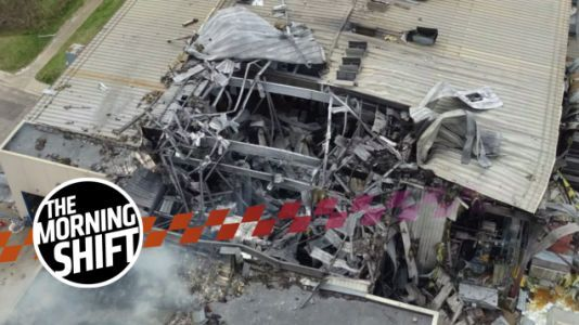 The Disruptive Ford F-150 Supplier Fire Had An Explosion That Threw An Employee Through The Air