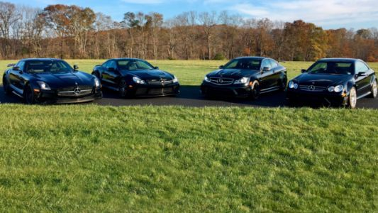 Here's Your Chance To Buy Four Mercedes-AMG Black Series Cars In One Fell Swoop