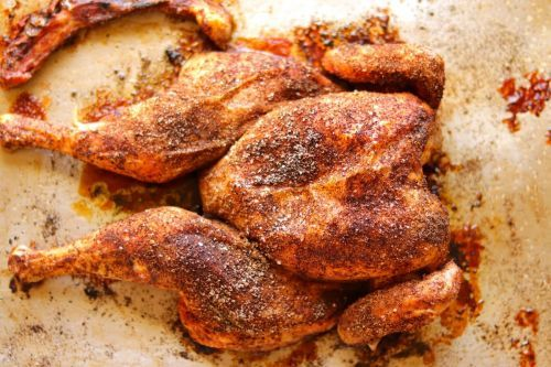 Cumin and Chili Roasted Chicken