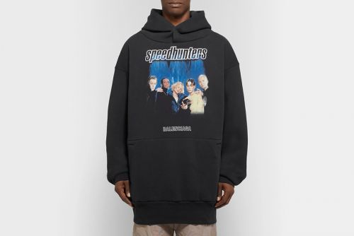 "Balenciaga's Retro ""Speedhunters"" Hoodie Scratches That '90s Itch"