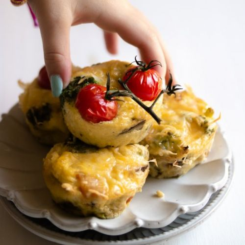 Kid Friendly Veggie Egg Cups