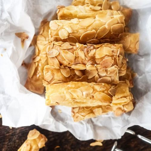 Almond pastry fingers