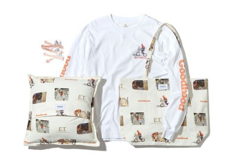 'E.T. The Extra-Terrestrial' Is Depicted in Watercolors for Goodhood Capsule Collection