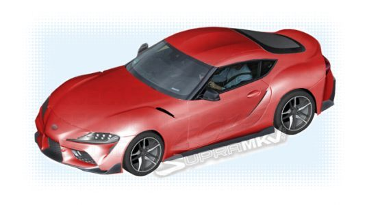 2019 Toyota Supra: Pretty Much The Whole Car From Some Leaked Parts Diagrams