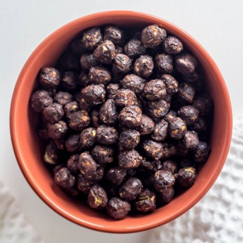 Chocolate Covered Roasted Chickpeas