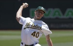 Bassitt, Phegley lead A's to 8-3 win, O's lose 8th in row