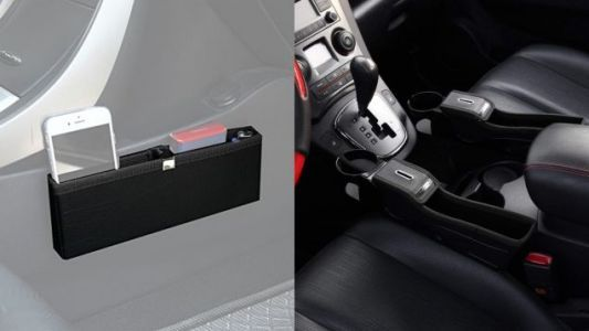 Get Your Front Seat Organized With a Pair of Discounted Storage Solutions