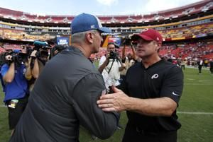 The Washington Redskins drop home opener to the Indianapolis Colts