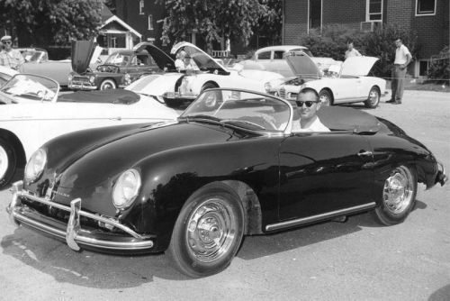 This 1958 Porsche 356A 1600 Speedster Clocking 527k Miles Is up for Auction