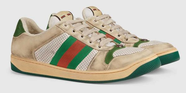 Gucci selling sneakers that purposely look dirty for nearly $900