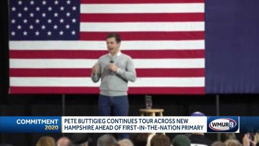 Pete Buttigieg continues tour across New Hampshire ahead of first-in-the-nation primary