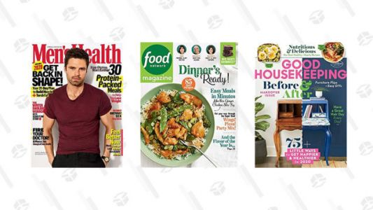Stock Up On Magazines While These Best Sellers Are Marked Down to $1