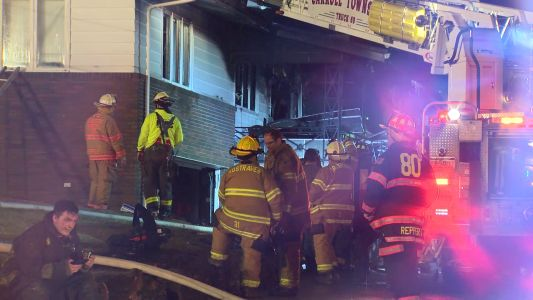 Two people taken to the hospital following fire in Monessen