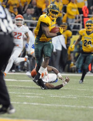 Bison stampede into FCS championship game with 55-13 victory