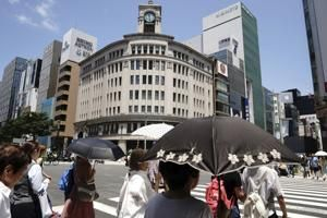 Heat wave has Tokyo residents concerned about Olympics